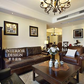 康都紫轩――140�O简约美式 三室两厅