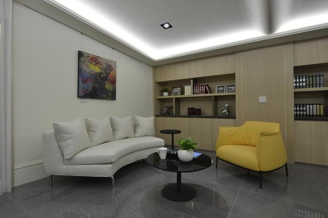 现代简约办公室  设计公司:华毅室内装修设计有限公司 设计师:杨颜华