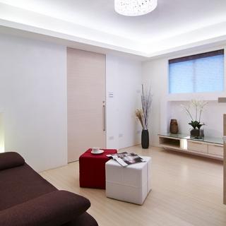 56平米功能齐全 风格独具的一室一厅