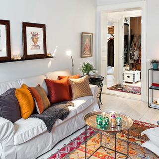 56平米轻法式女子公寓