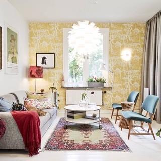 瑞典66平米北欧乡村风公寓