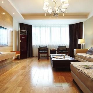 天河西苑- 9.5万打造的150平米现代中式四居室