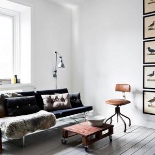 黑白游戏 斯德哥尔摩北欧公寓
