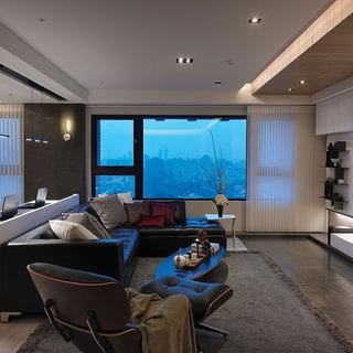 165平米大三居 设计感居家 收藏城市天际线美景