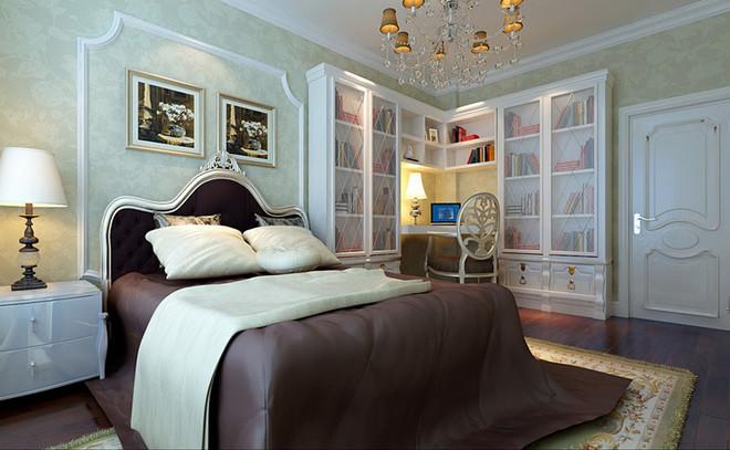 东易日盛-国兴家园148平米欧式风格三居室装修设计