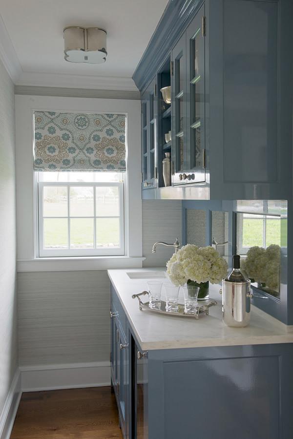 美式家居生活里的焦点区——厨房装修效果图