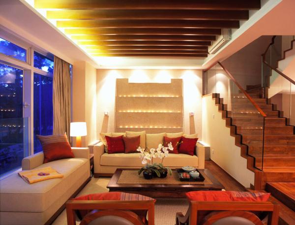 梁志天设计的香港星月湾比华利山混搭风别墅