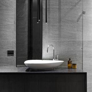 现代风格灰色卫浴间装修效果图大全2014图片-搜狐