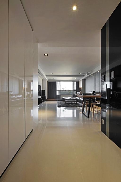 混搭风经典品味 人本主义优美三居室装修效果图