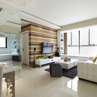 庭院深深――70平现代简约3室2厅