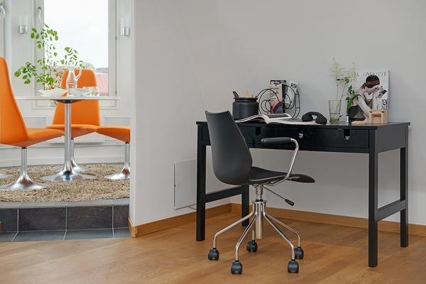 122平米非凡美味的北欧风双层公寓 亮色系三居室装修效果图