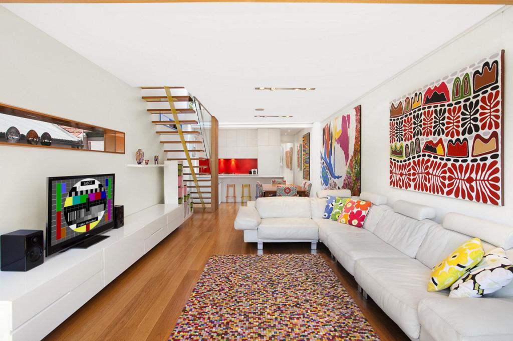 五彩缤纷的现代化住宅设计