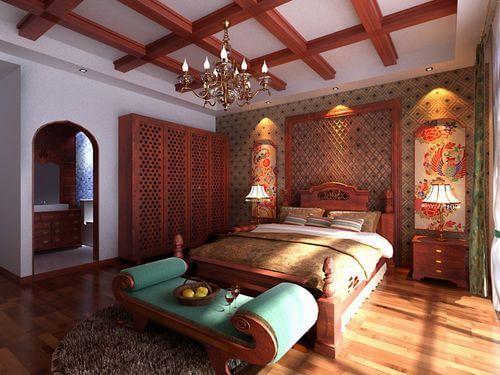木材房间装饰图片