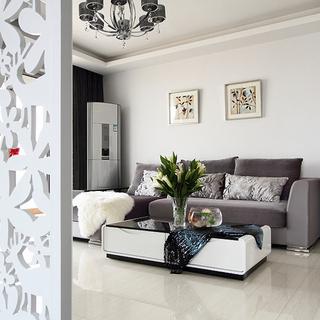 120平现代简约 卧室窗台超级变身花园式榻榻米