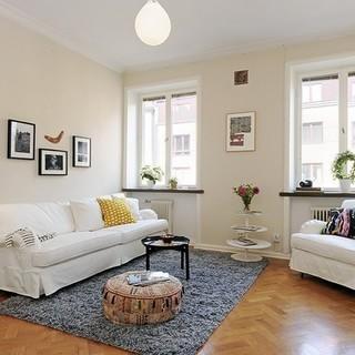 140平米简约清新的北欧小公寓