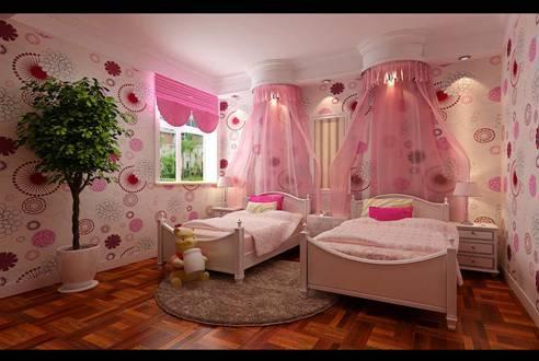 设计亮点: 不爱花哨的壁纸,独钟情于墙壁最原始的颜色,简单的相框也能装饰好墙面。选择深色的实木地板瞬间提亮了整个房子的色调,让卧室更加温馨,明亮,再加上原木的梳妆台、床头柜、床榻等单纯元素装饰,带来一股小清新的感觉。 米白色的纯棉床品化解了深灰色带给人的阴沉,反而显得沉稳大气,更加宜家宜居。
