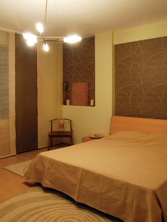 和风禅韵-素雅自然的日式两居室装修效果图