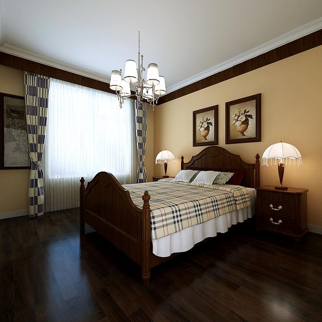 现代客厅上墙装修实景图 欧式