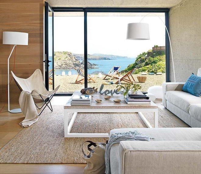北欧风格装修150平壮观海景别墅图片