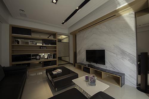 无锡装修300平米现代简约别墅
