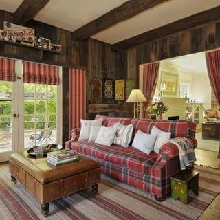 别墅室内木材装修图片