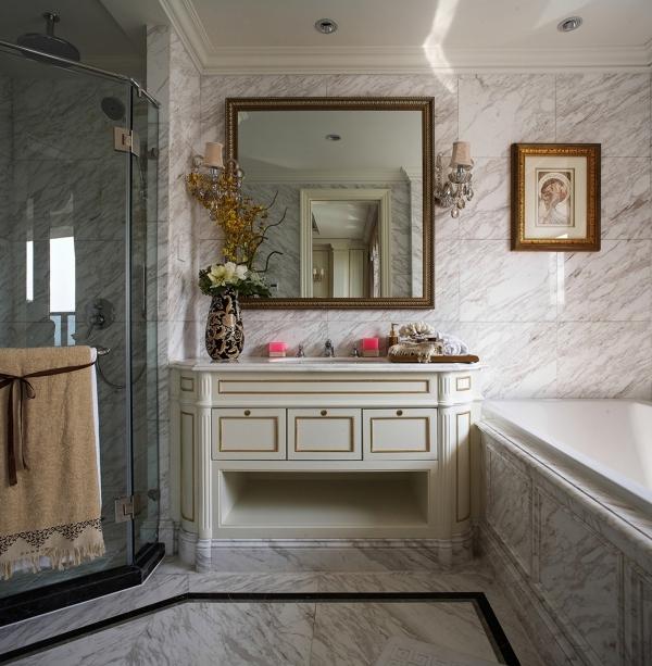 瑞安绿城玉园-法式古典奢华风格装修效果图