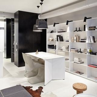 现代质感 54平方米的一居室公寓