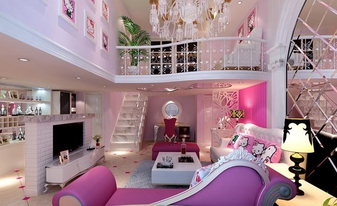淡粉色壁纸欧式