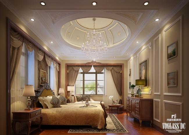 新古典休闲别墅空间设计  这是远洋傲北一套欧式新古典主义休闲娱乐