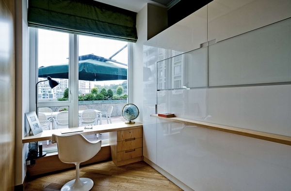 与老式风格混搭的香港住宅装修效果图