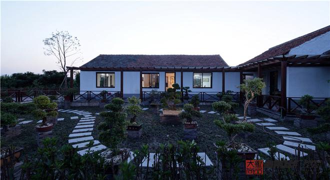 170㎡梨园—新中式风房屋装修效果图