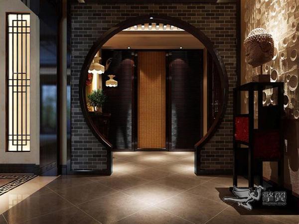 端庄典雅新中式格调两居室装修效果图