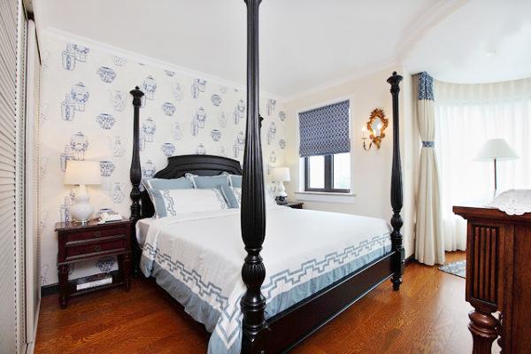 150平米温馨美式四居室装修效果图