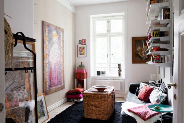 秋冬一样很温暖混搭公寓装修效果图