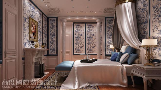 北京温哥华森林320㎡别墅欧式新古典装修设计风格
