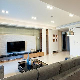 两代同堂的新式思维简约风尚三居室