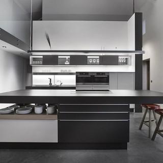 200平米以上其它工业风格灰色厨房装修效果图大全2015