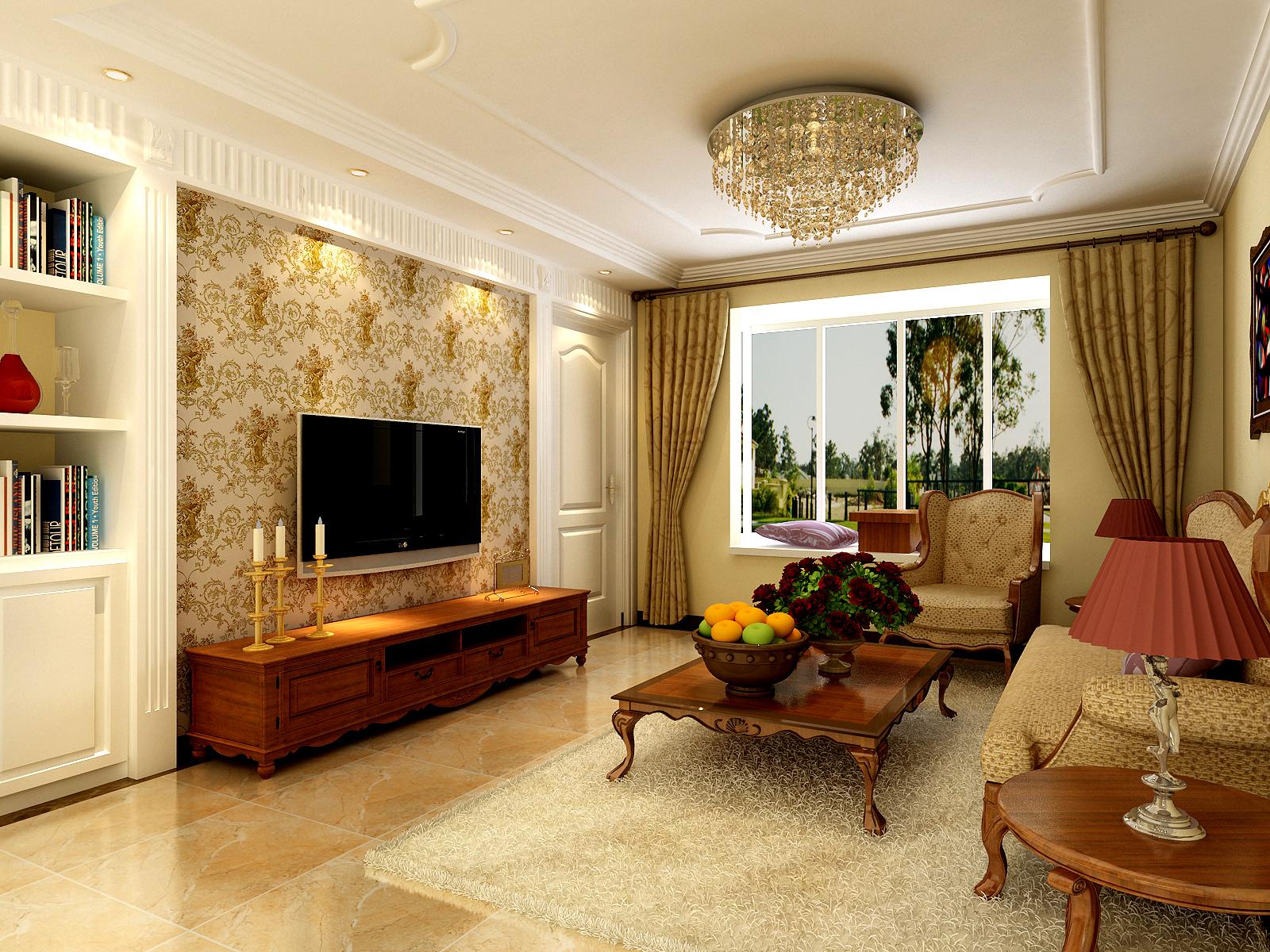 此方案是以简欧风格为主题。简欧是欧式风格的一种,以白色为主色调,浅色为主深色为辅。相比较浓重的欧式风格更加清新而精致。整体营造出典雅、自然、高贵的气质。 家具的选择,与硬装修上细节应该是相称的,选择深色、带有西方复古图案以及非常西化的造型家具,与大的氛围和基调相和谐。