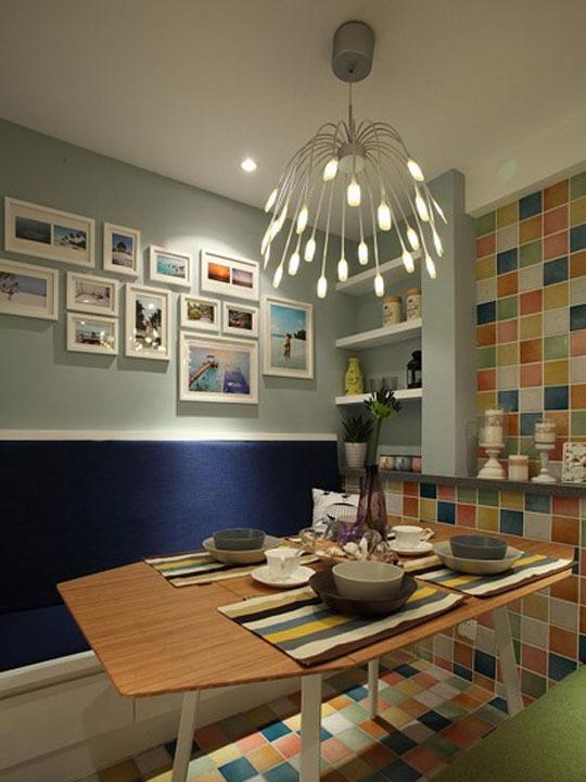 精彩无限混搭风格小两居室装修效果图