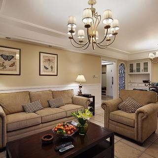 近江三园 ――115平简约美式三室二厅