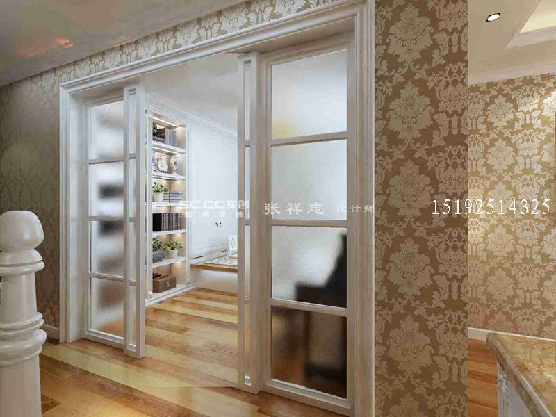 城阳小区精装修【红墅湾】145平现代欧式装修设计|青岛实创装饰