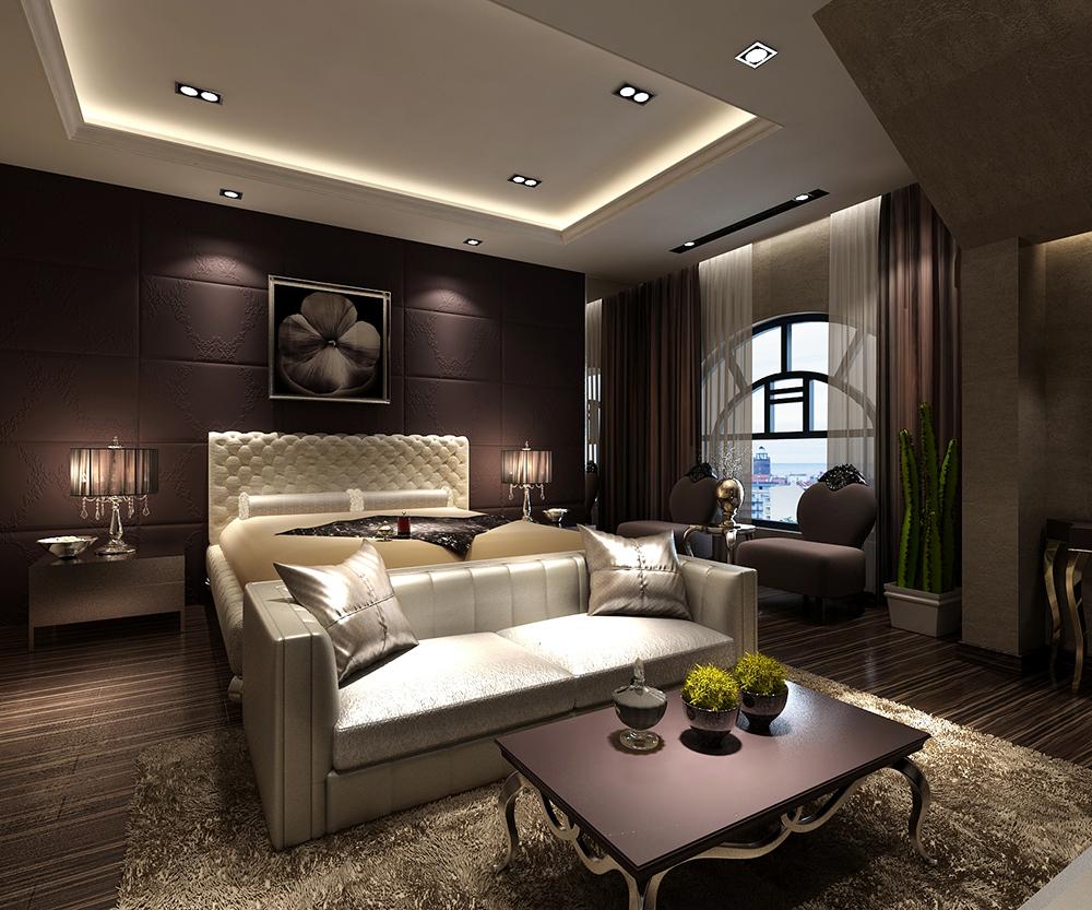 贵阳黔灵半山290平复式楼欧式奢华风格装修案例