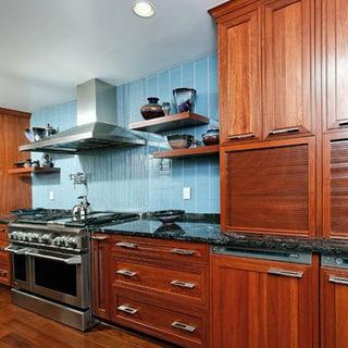 新中式风格厨房装修效果图大全2015图片-搜狐家居品格