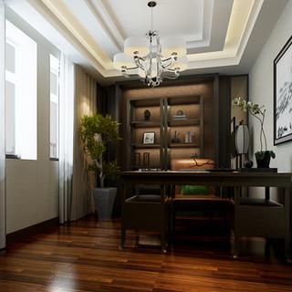 中式新古典别墅装修设计