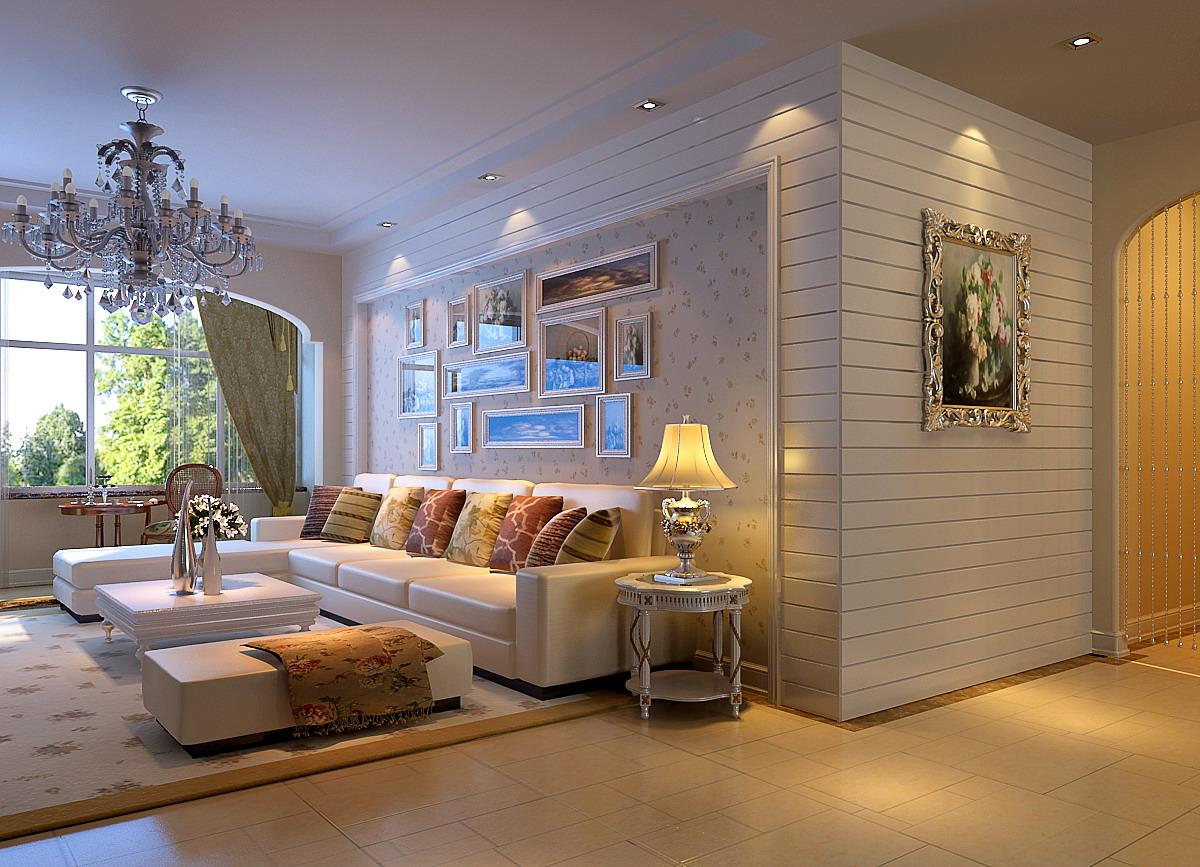 朝阳区首城国际140平米装修欧式风格三居室
