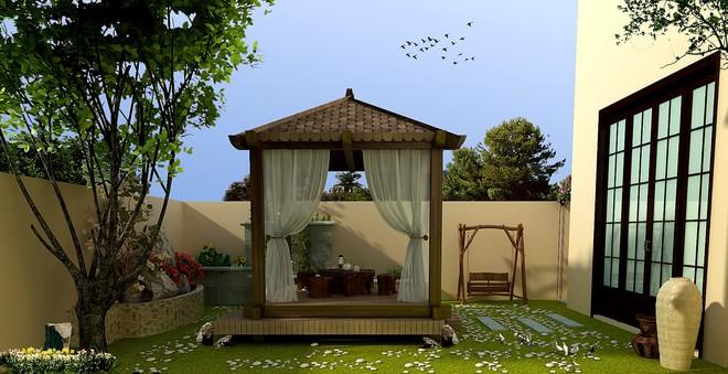 欧式童话三层别墅