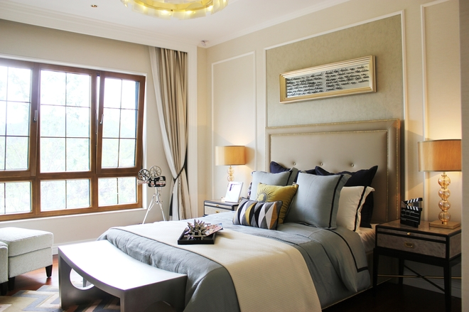 现代美式别墅装修设计展示方案