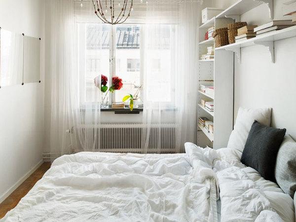 44平米阳光照耀的温暖简约家装修效果图