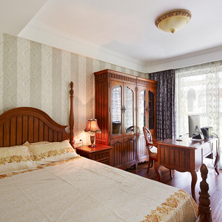 九州方圆――110平美式四房两厅两卫