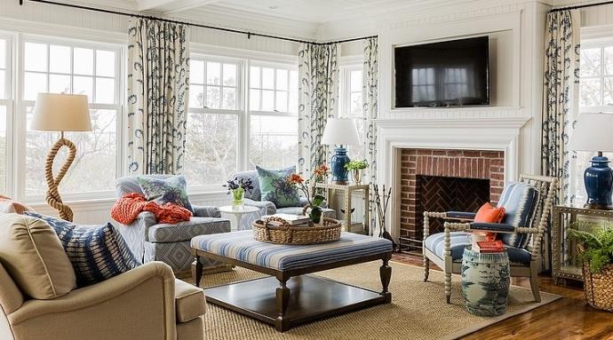 辉煌国际公寓210平米奢华欧式装修